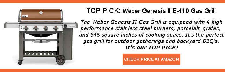best gas grills 2019 Genesis II E-410