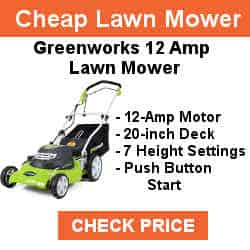 best push lawnmower 2019 Greenworks 20-Inch 12 Amp Corded Lawn Mower 25022