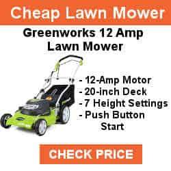 best push lawnmower 2019 Greenworks 20-Inch 12 Amp Corded Lawn Mower 25022